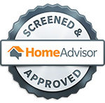 screened & approved service professional badge