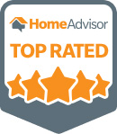 top rated service award badge